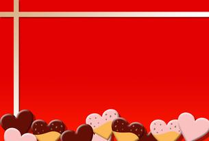 チョコレートフレームの素材 [FYI00189985]