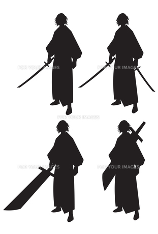 侍の写真素材 [FYI00189995]