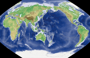 世界地図の写真素材 [FYI00190091]