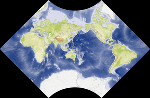 Adams World in a Squareの写真素材 [FYI00190130]