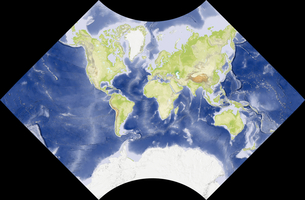 Adams World in a Squareの写真素材 [FYI00190131]