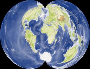 正規多円錐図法の写真素材 [FYI00190133]