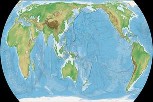 野村正積平極円筒図法の写真素材 [FYI00190343]