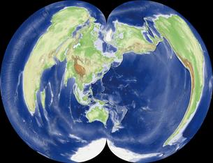 正規多円錐図法の写真素材 [FYI00190418]