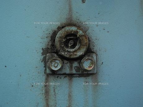 水色の壁の写真素材 [FYI00190566]