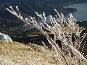 冬の山景色の写真素材 [FYI00190671]