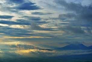朝雲の写真素材 [FYI00190893]