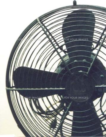古い扇風機の写真素材 [FYI00191853]