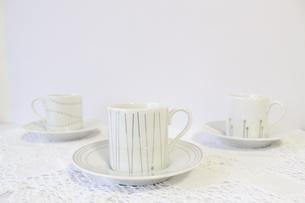 コーヒーカップの写真素材 [FYI00192015]