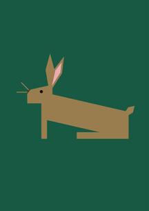 イラスト ノウサギの素材 [FYI00192054]