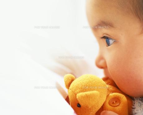 赤ちゃん 瞳の写真素材 [FYI00192787]