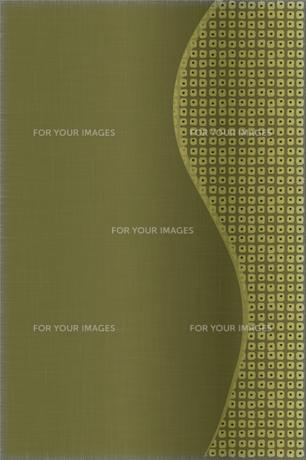 鴬色の古布(着物)と 絞り柄の写真素材 [FYI00193101]