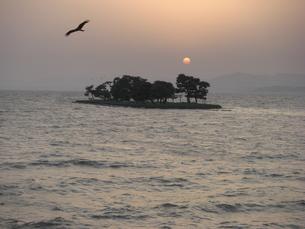 夕暮れの宍道湖の素材 [FYI00193106]
