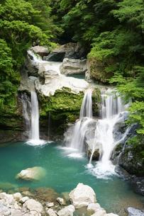 夏の大轟の滝の写真素材 [FYI00193153]
