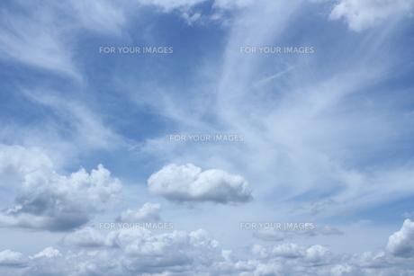 夏雲の写真素材 [FYI00193509]