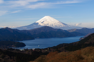 箱根からの富士山の素材 [FYI00193603]