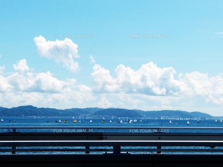 江ノ島より 海の写真素材 [FYI00193611]