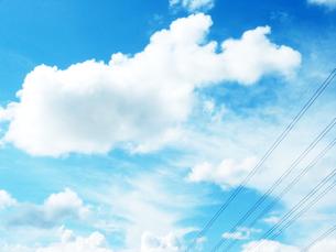 sky blueの写真素材 [FYI00193622]