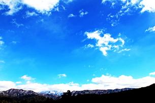 澄んだアルプス山脈の写真素材 [FYI00193691]