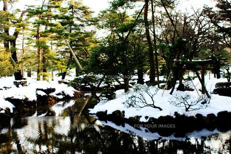 日本庭園Ⅰの写真素材 [FYI00193707]