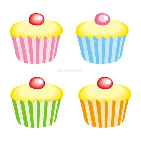 カップケーキの写真素材 [FYI00193936]