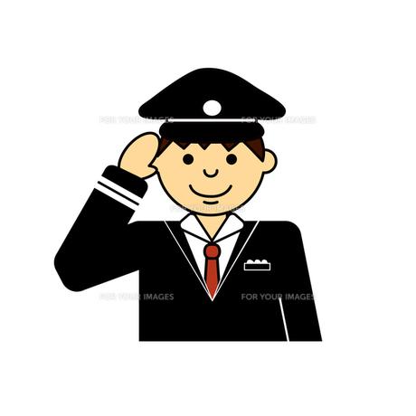 制服を着た男性の写真素材 [FYI00193996]