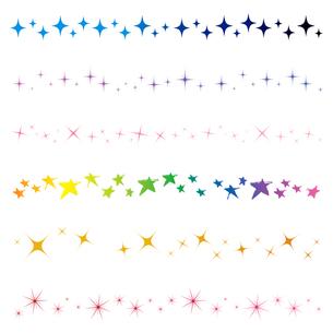 星のラインの写真素材 [FYI00194010]