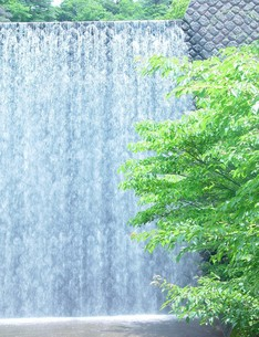 穂高湖砂防ダムの写真素材 [FYI00194585]
