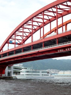 神戸大橋2の写真素材 [FYI00194606]