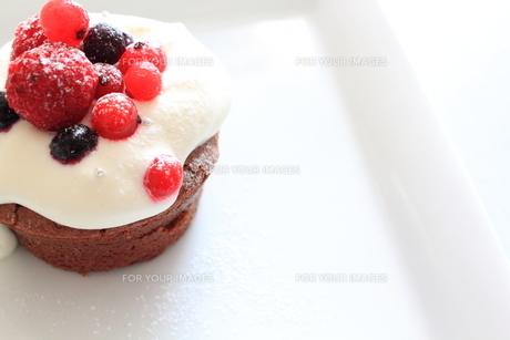 チョコレートケーキの写真素材 [FYI00194764]
