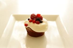 チョコレートケーキの写真素材 [FYI00194777]