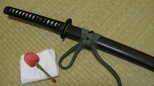日本刀の写真素材 [FYI00195154]