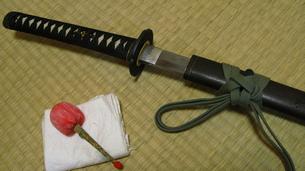 日本刀の写真素材 [FYI00195160]
