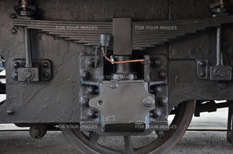 蒸気機関車の素材 [FYI00195347]