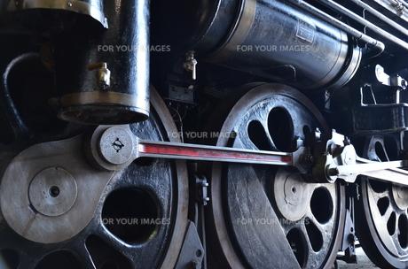 蒸気機関車の素材 [FYI00195351]