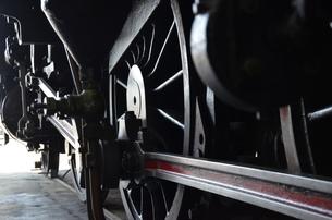 蒸気機関車の素材 [FYI00195355]