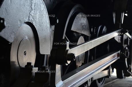 蒸気機関車の素材 [FYI00195363]
