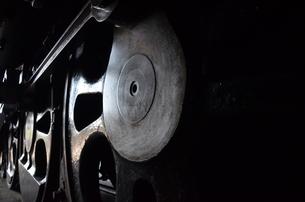 蒸気機関車の素材 [FYI00195365]