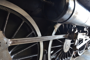 蒸気機関車の素材 [FYI00195367]