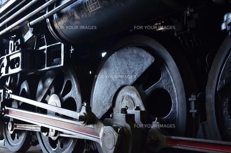 蒸気機関車の素材 [FYI00195371]