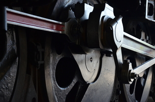 蒸気機関車の素材 [FYI00195372]
