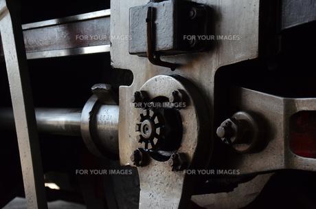 蒸気機関車の素材 [FYI00195373]