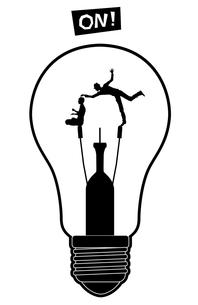 アイデア 発想 思いつきの写真素材 [FYI00195381]