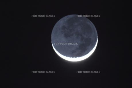 地球照の写真素材 [FYI00195401]