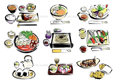 和食の写真素材 [FYI00195431]