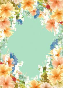花のフレームの写真素材 [FYI00195650]