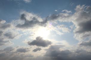 空と雲と光の歌の写真素材 [FYI00195684]