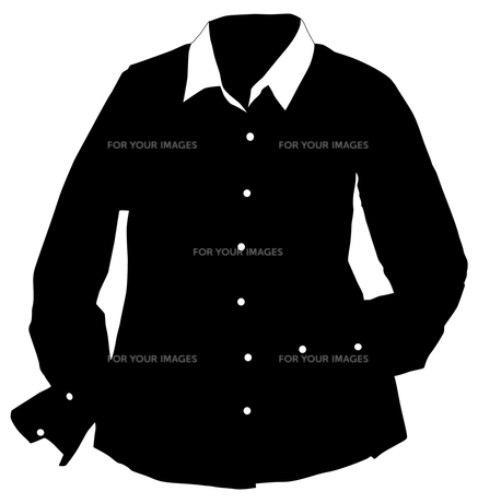 Yシャツの写真素材 [FYI00196424]