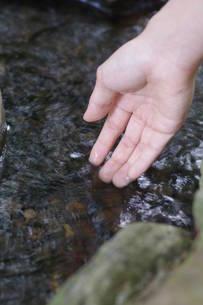 水の流れの写真素材 [FYI00197030]