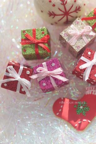クリスマスプレゼントの写真素材 [FYI00197074]